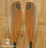 Marsyas Fiberglass Paddle 2Piece Red Fish