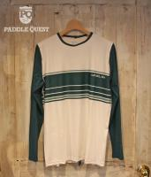 ☆SALE 20%オフ☆  Men's Coastal Long Sleeve WhiteGreen